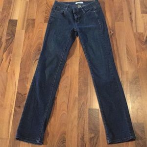 Blue White House Black Market Size 00 Jeans